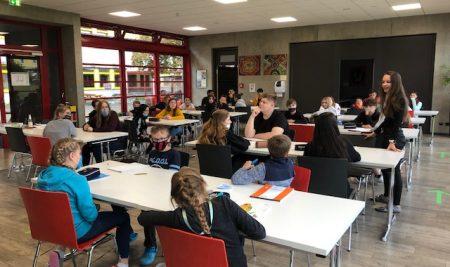 Wahl der Schülersprecher und Verbindungslehrer an der Mittelschule