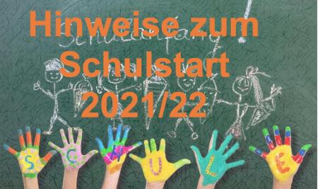 Start ins neue Schuljahr 2021/22